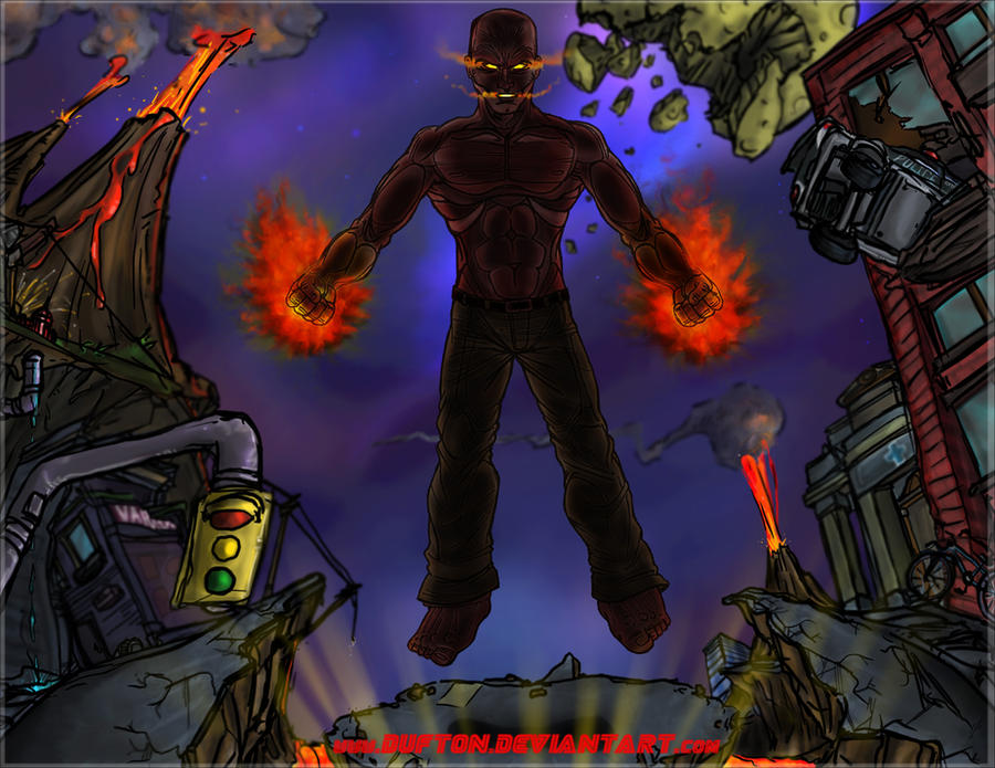 inFamous 2 the Beast by Dufton