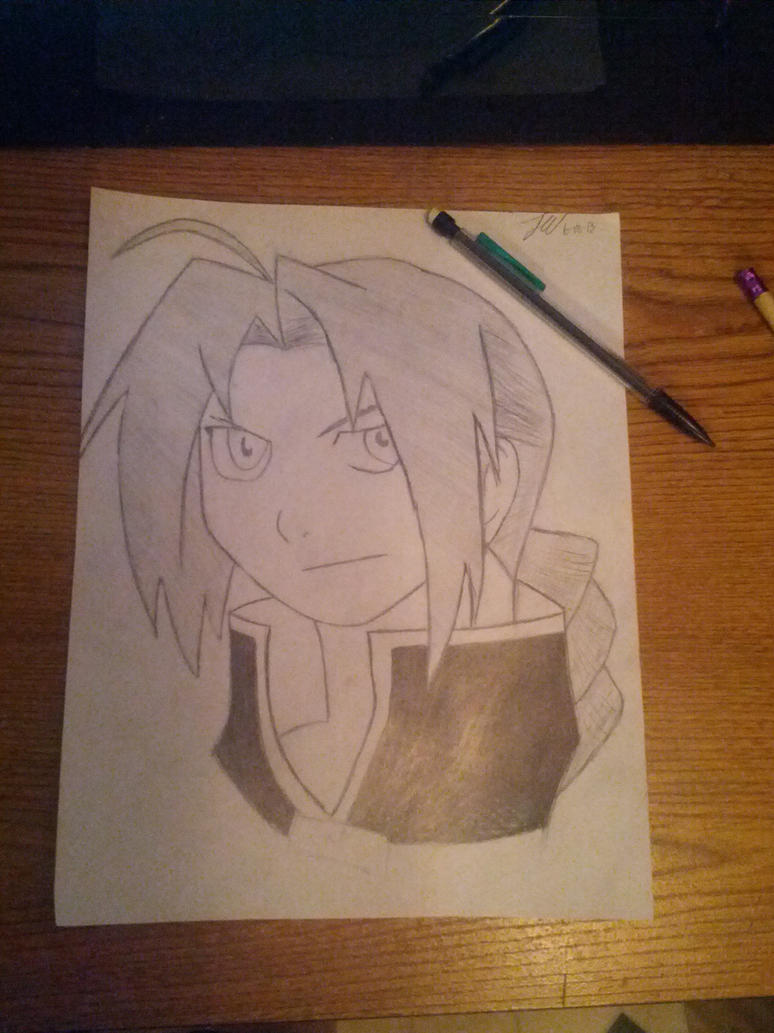 FMA Edward Elric by colemacgrath24