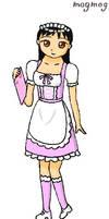 Variable Maid Cafe pt1 - WG AR by gomyugomyu