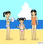 Sisters on the Beach pt1 - AP