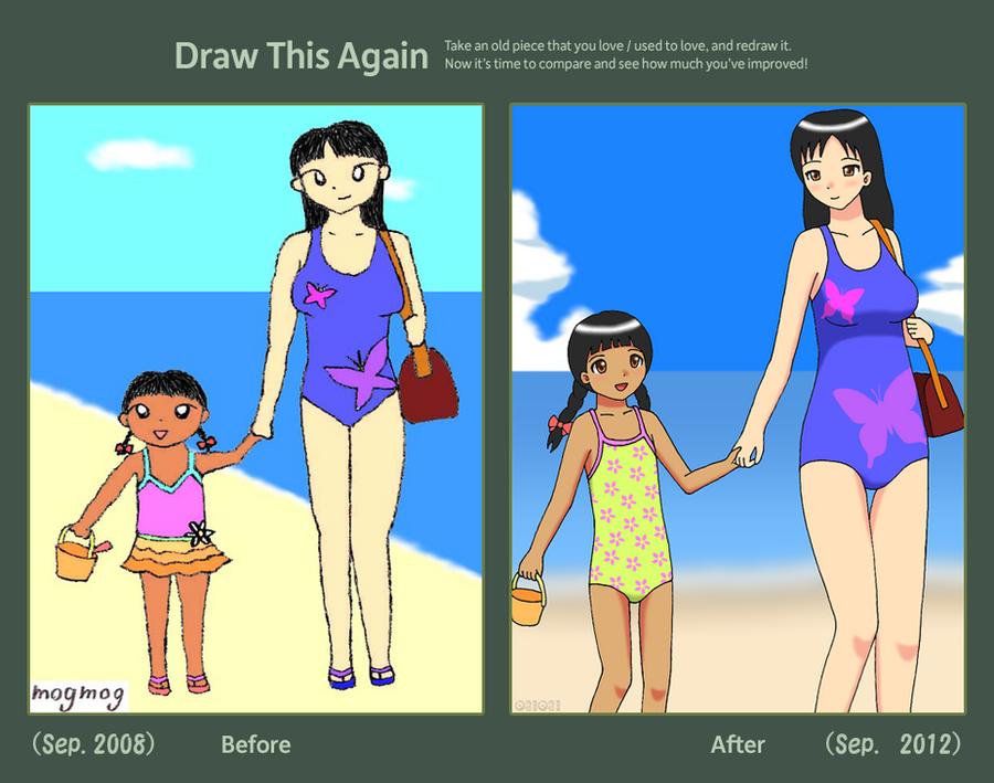 Draw This Again: Progression by gomyugomyu