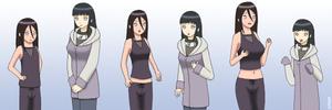 Request: Hinata And Hanabi Age Swap
