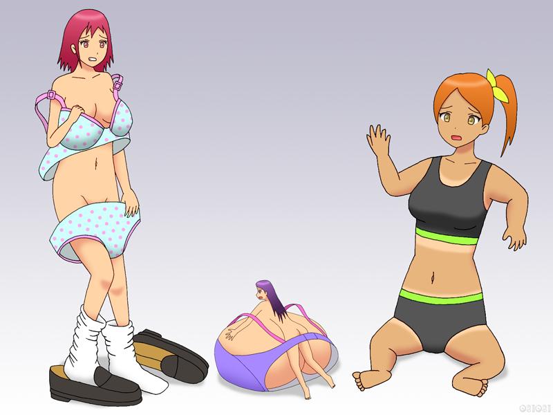 Boobs are shrinking
