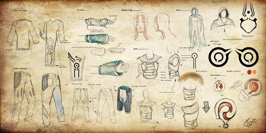 Jace Beleren: CostumeBlueprint by 23rdAngel