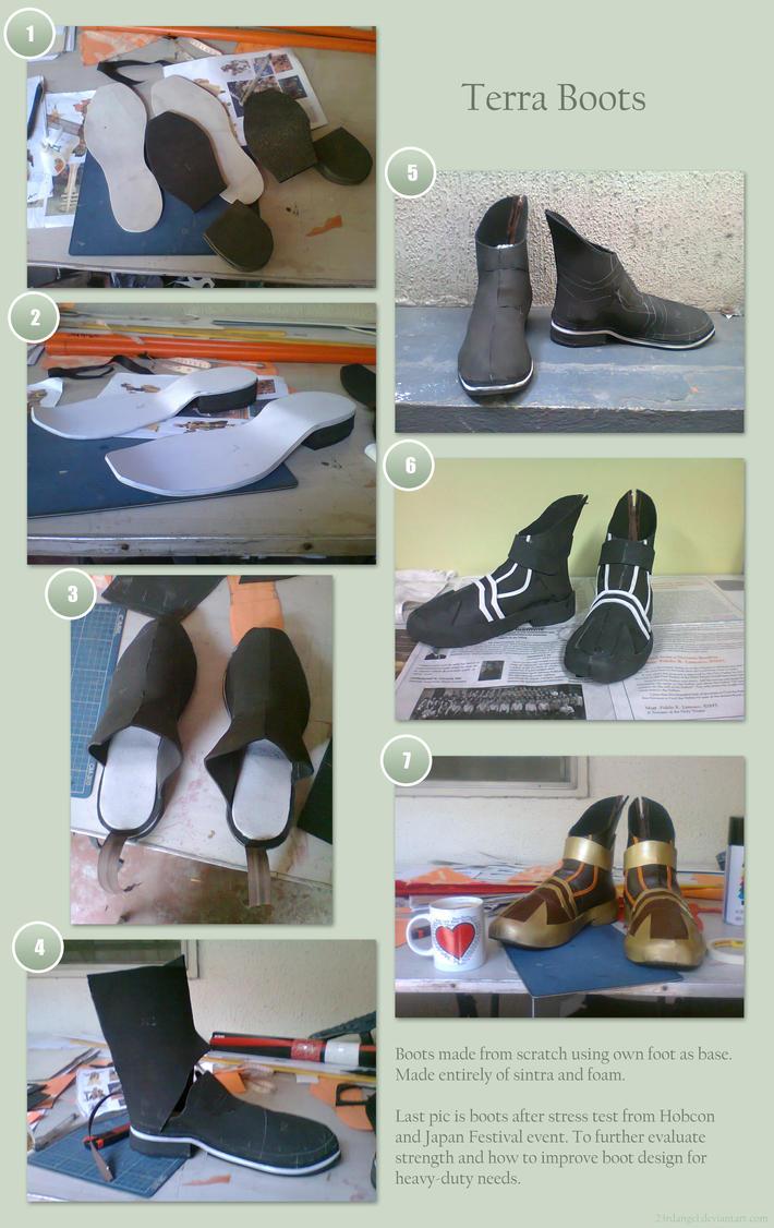 Terra Boots by 23rdAngel