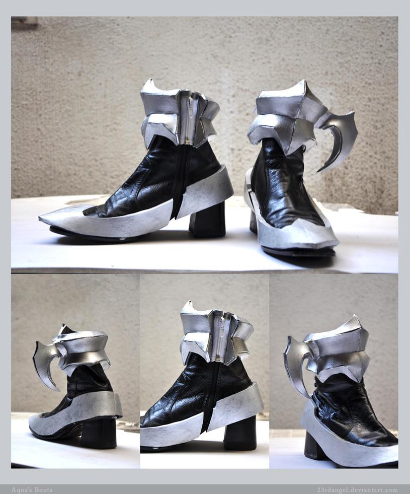 Aqua's Boots by 23rdAngel