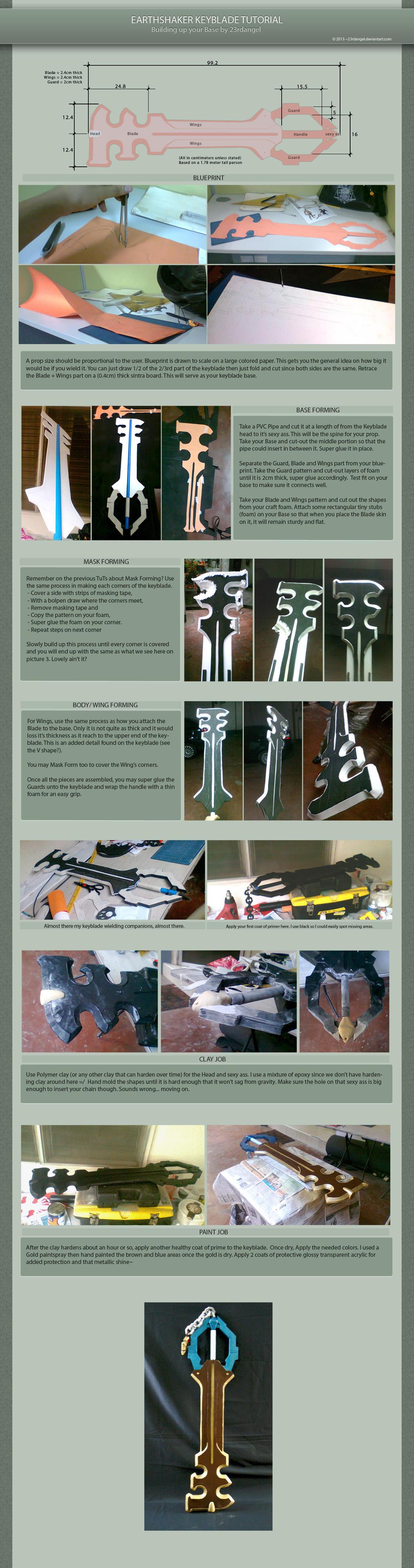 Earthshaker Tutorial: Keyblade by 23rdAngel