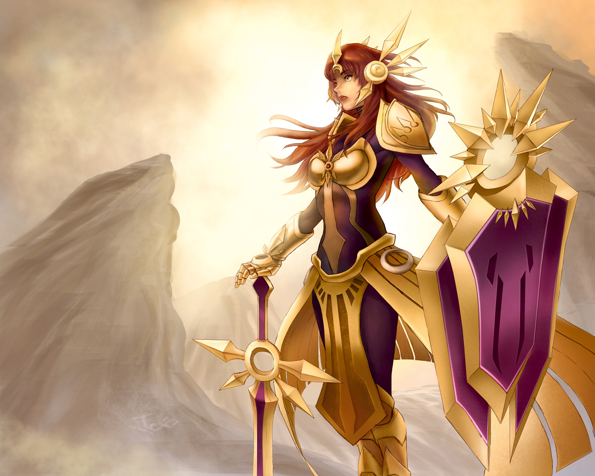 leona the radiant dawn skins - photo #5