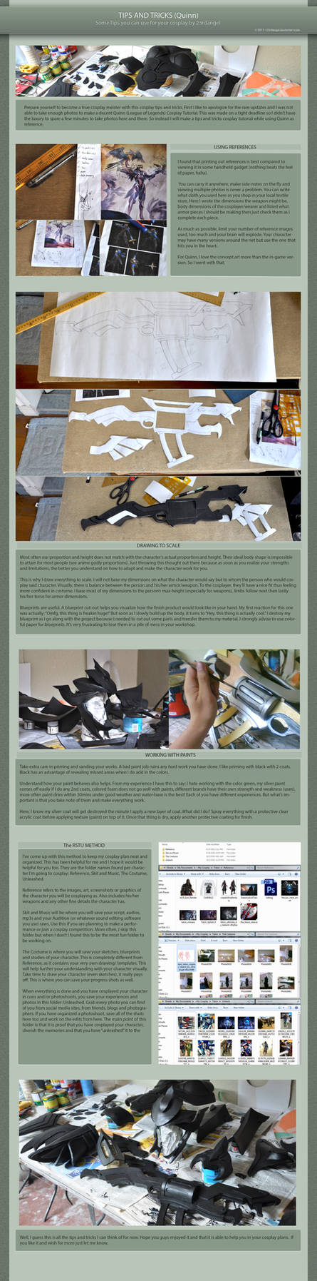Tips and Tricks: A Cosplay Tutorial