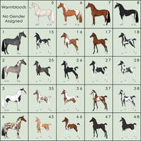 Equine Adoptables Grid [OPEN] | PRICES REDUCED
