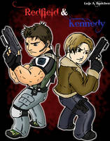 Redfield and Kennedy by redfield37