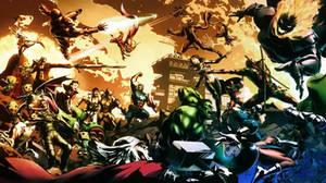 Marvel vs Capcom 3 by redfield37