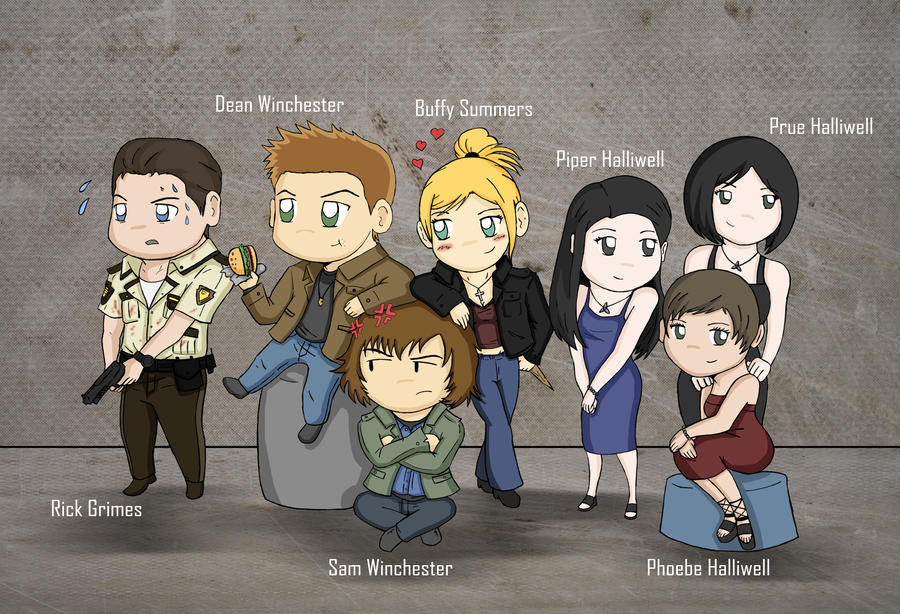 Favorite TV series Characters by redfield37