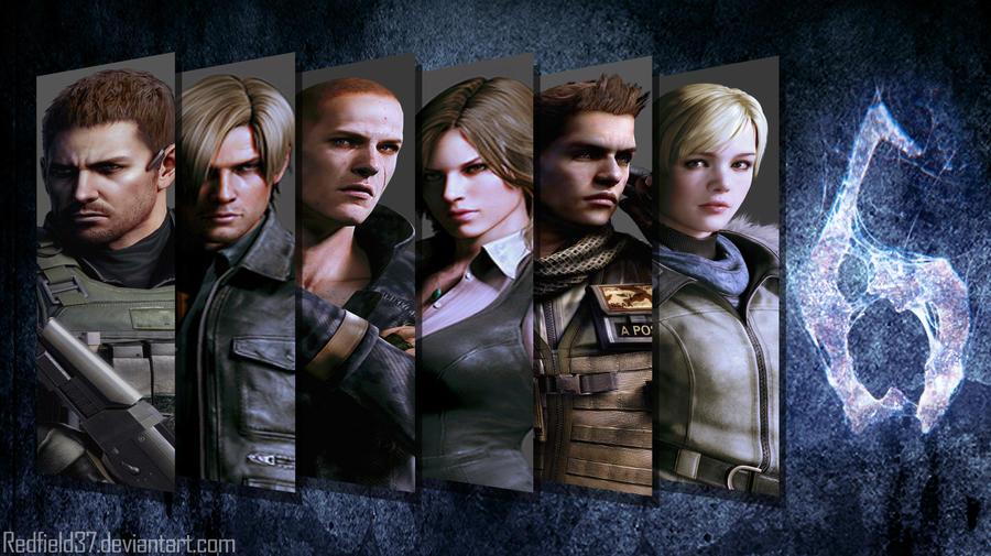 Resident Evil 6 Wallpaper by redfield37