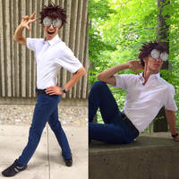 Umino (Melvin) Cosplay by PtrCosplay