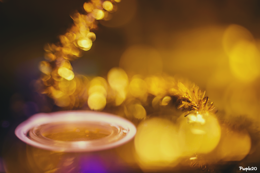 Golden Bokeh by Purple20