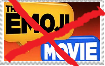 anti emoji movie stamp by islandofsodorfilms