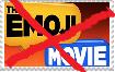anti emoji movie stamp by islandofsodorfilms