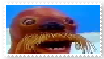 Giant Walrus stamp by islandofsodorfilms