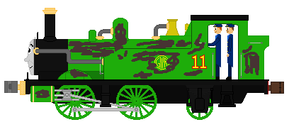 Oliver The Western Engine(Steampunk AU) by islandofsodorfilms