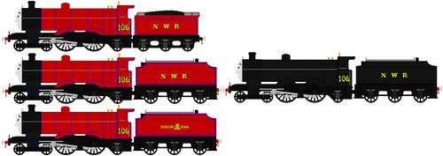 Rupert The Red Engine(My Headcannon) by islandofsodorfilms