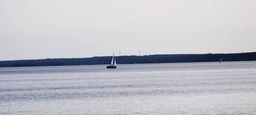 Blue Boat by GaAsshole