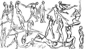 2 min figure drawing dump