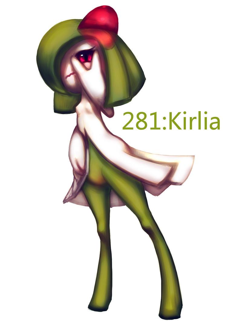 kirlia by float-cloud