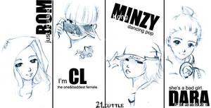 2NE1 by miyala0401