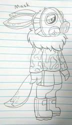 (Splatoon Manga) Mask as an Inkling Shreevee by vaporeon1511
