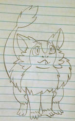 Tiny in Mick's Style by vaporeon1511