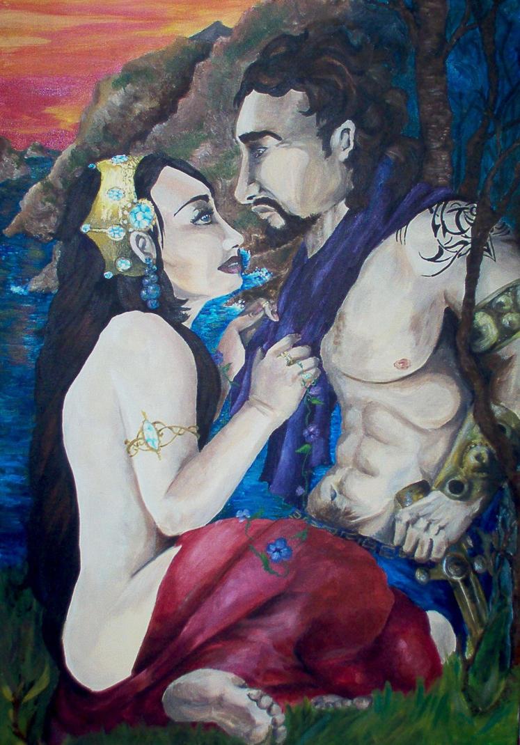 Image Gallery odysseus and calypso