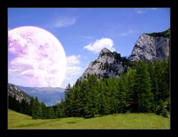 Planet Landscape 2 by lucky-lacky
