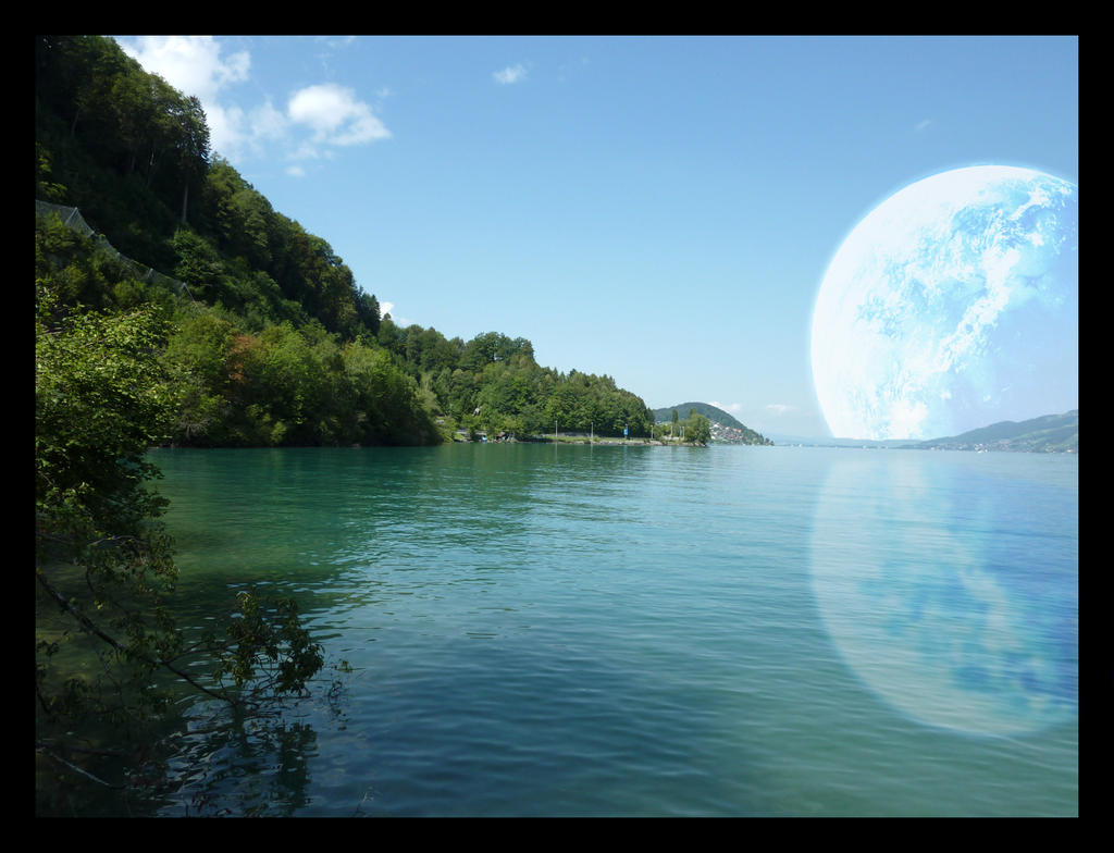 Planet Landscape 3 by lucky-lacky on DeviantArt
