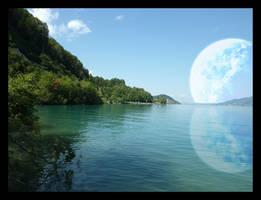 Planet Landscape 3 by lucky-lacky