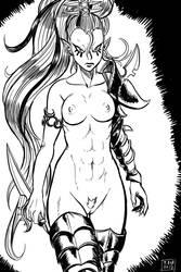 Warriorinna DeHex by Ragathol