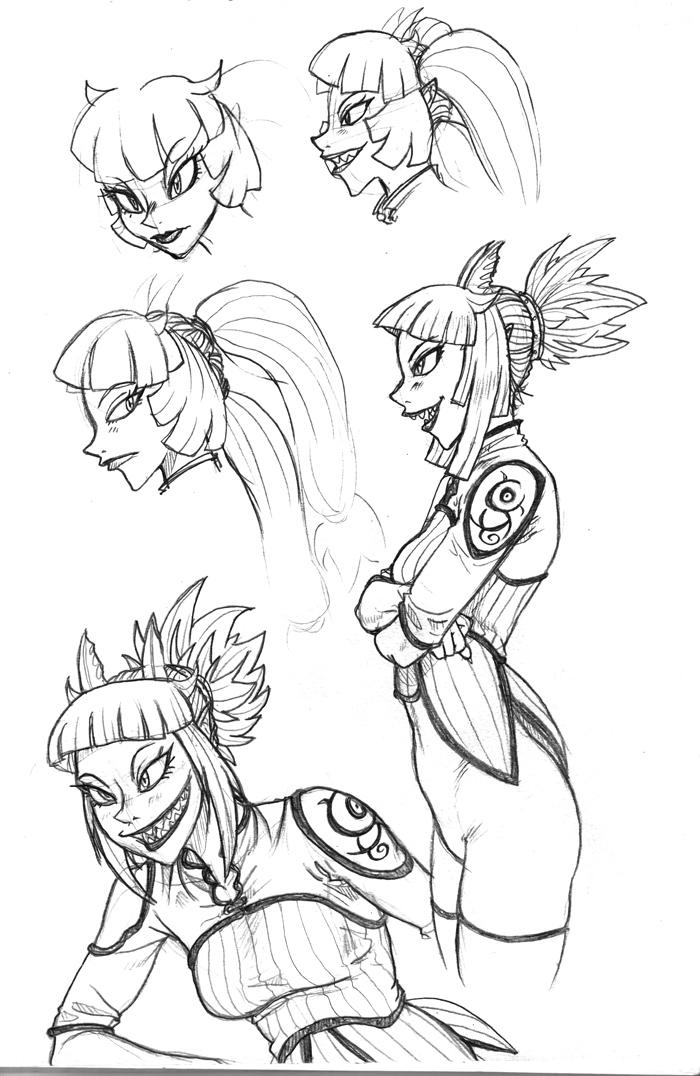 Fantasy sketches 13 by Ragathol