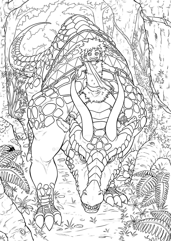 Dino Rider by Ragathol