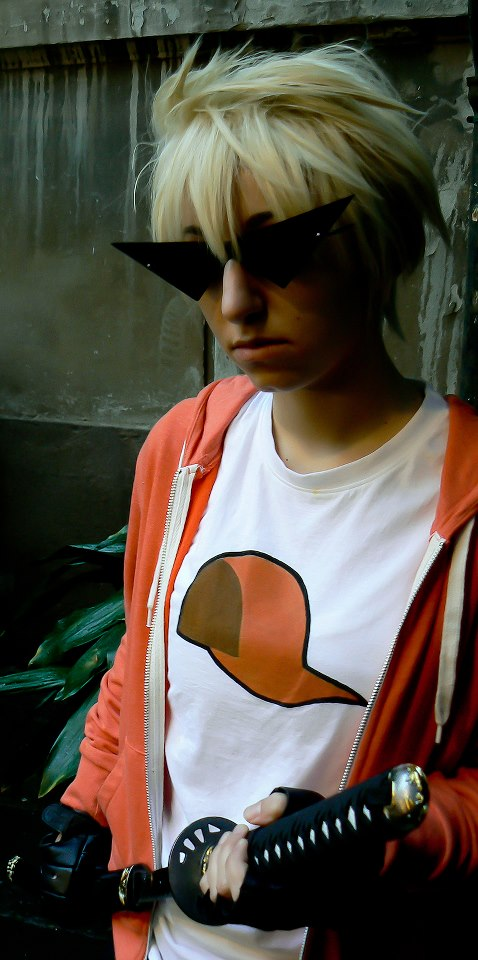 Orange Hat by Droflyn