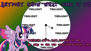 Twilight Tuesday Time by CorpulentBrony