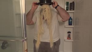 Spaghetti Bucket Challenge by CorpulentBrony