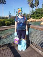 Marefriend Rainbow Dash Spooktacular Cosplay Front by CorpulentBrony