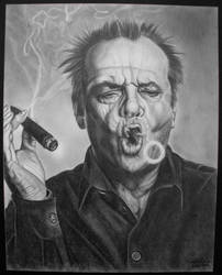 Jack Nicholson by Clutch-MFD