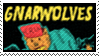 stamp : gnarwolves (band) by deja-nintendu