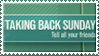 stamp : taking back sunday (band) by deja-nintendu