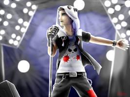 SLG Fanart - Maitre Panda Rockstar by Releshahn