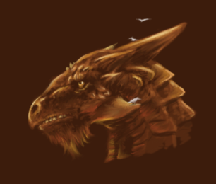 Bronze Dragon Profile by MakoServitor