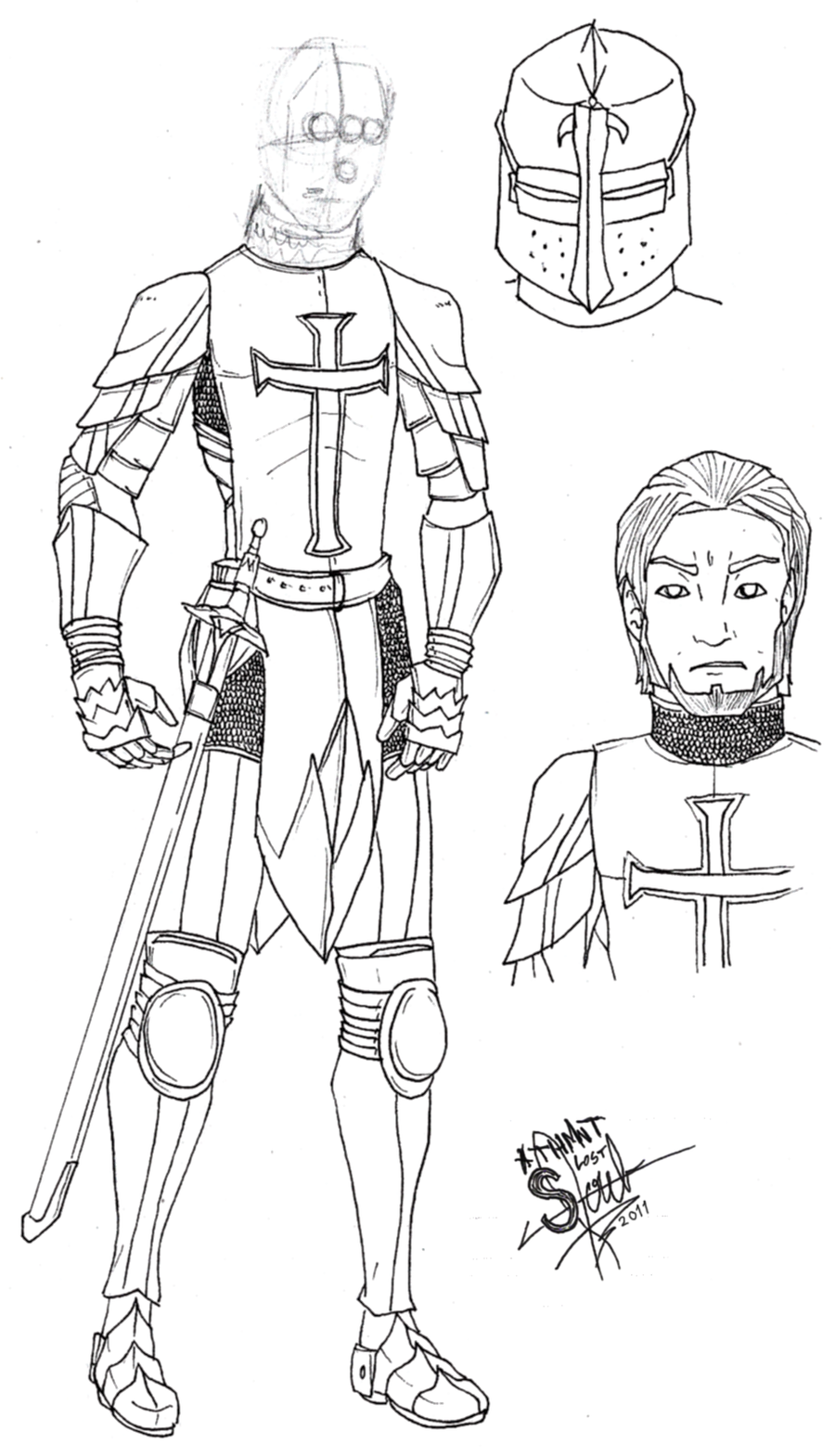 Knight Templar Ivan by athorment on DeviantArt