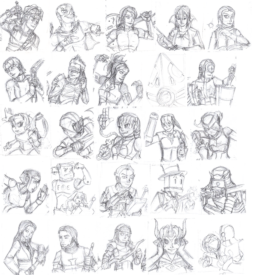 Aasuf Sketchy Epic Poses 3 By Athorment On Deviantart