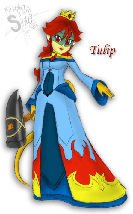 MZ - Princess Tulip Koopa by athorment